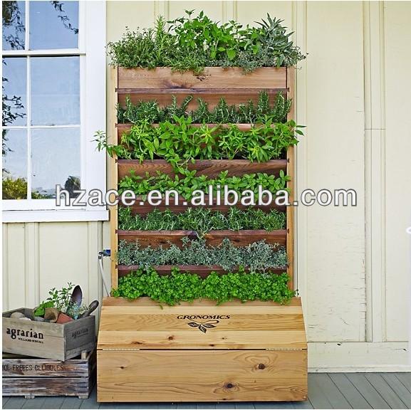 Wooden Vertical Garden Planter Buy Vertical Wall Garden