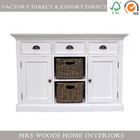french furniture provencal painted antique wooden sideboard living room/dining room