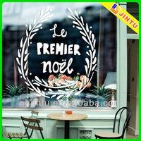 High quality custom design eco pvc window sticker decal