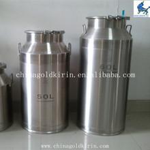 necking stainless steel liquid barrel
