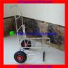 Two Wheels 250kgs Platform Stainless Steel Foldable Trolleys