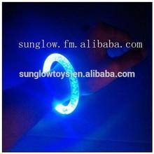 plastic electronic sparkling for party led bracelet