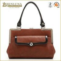 2014 hot sell brand woman fashion handbag with elegant digital print