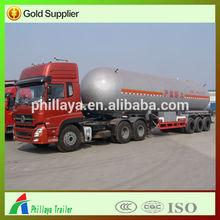 3 Axles hot sale lpg tank, propane transport tank semi trailer with high quality