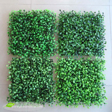 GNW BOX099 China Home Decor Wholesale Green Color Garden Landscaping Plastic Plants Artificial Boxwood Mat