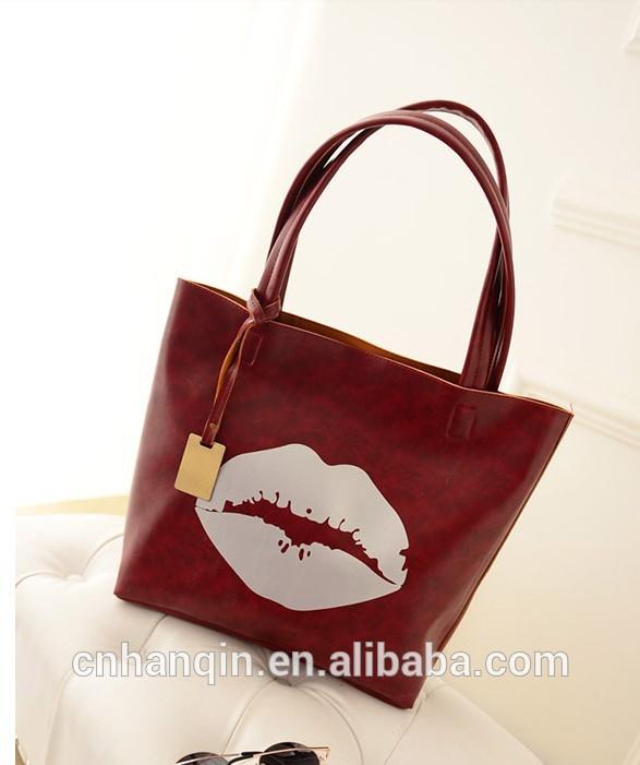 Unique Shaped Handbags Very Big Lip Shaped Handbags