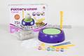 'enseignement abs. enfants,& jeunesse, atelier de poterie terre cuite avec roue jouets