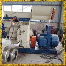 2014 Durable Rice Husk Pellet Making Machine With Thicker Steel Plates