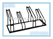 4 pcs portable vertical metal bike rack