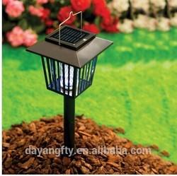 Eco-friendly Solar Electric Outdoor garden power Garden mosquito/fly trap/killer lamp pest control