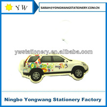 hanging paper car perfume in car shape(MSDS certificate,100% fragrance without any other liquid)