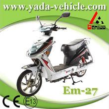 Yada em27 48v 450w brushless PMDC lead-acid drum12ah lead-acid 16inch disc brake mini electric moto electric scooter