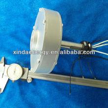 50w 200 rpm vertical gerador de ímã permanente de baixa rpm pmg