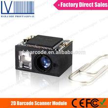 LV3080 2d barcode pdf417 scanner smallest design for mobile phone application