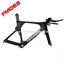 2015 YISHUNBIKE factory sale tt carbon bike frame BB30/PF30 Time Trial bike frame YS-068