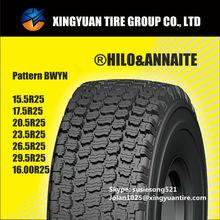 15.5R25/16.00R25 2014 Hotsale HILO OTR Tyres and Rim