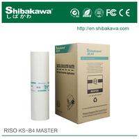 Riso KS B4 Digital stencil master roll&Duplo master roll