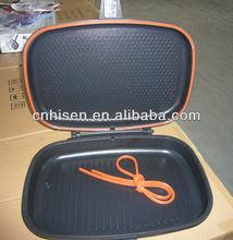 40cm Die-cast double fry pan / double grill pan