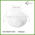 ceiling mounted pir sensor 360 degree ,PIR motion senor switchon/off