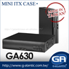 GA630 Car PC Mini PC Computer Case Mini ITX