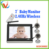 Hot selling 7.0 inch LCD baby monitor with remote control