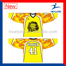 Best selling cheap ice hockey shirts for men&women