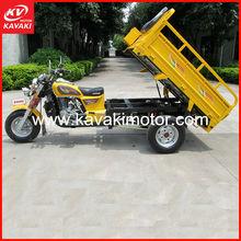Guangdong Guangzhou KAVAKI Cargo Tricycle Gas / Tuktuk / Three Wheel Motorcycle