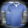 Custom tailandês qualidade barato camisa de futebol copa do mundo no brasil, campeonato de futebol jersey grau de qualidade original, colocar o seu número de futebol