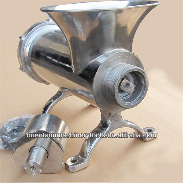 Paslanmaz çelik ticari elektrikli kıyma makinesi 32 motor kasnağı