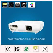 3000lumens Full HD Native 1920X1080 LED LCD Digital Projector With 2HDMI+2USB+VGA+RJ45 Internet Port+Analog TV