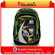 2012 fashion new stylish ben 10 school bag wholesale, best school backpack
