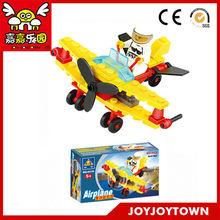 Building bricks box aircraft block toy gear Sets building set educational baby toys learn good JOYJOYTOWN 6410