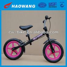 Popular Style 12 Inch Black Balance Bike For Kids In China