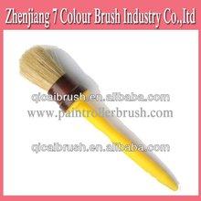 Cabeza redonda de la construcción del cepillo de pintura, Negro y pisos de piezas, La muestra libre herramientas de mano