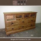 Antique living room furniture european design wooden sideboard