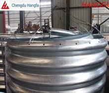Hot dip corrugated galvanized steel pipe