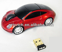 China Supplier 2014 factory optical usb Porsche wireless Car shaped mouse