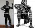lycra spiderman costume spiderman lattice costume adulto costumi di spiderman nero