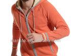 100%cashmere hoody zipper cardigan 100%cashmere 12gg autumn winter sport knitwear