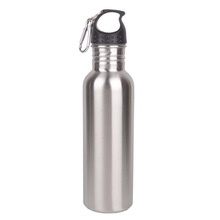 China made 750ml stainless steel water bottle, FDA passed stainless steel bottle, food grade stainless steel sport water bottle