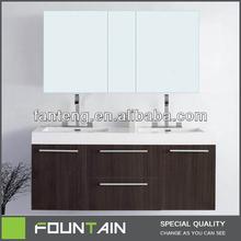 Plush Vanity Luxury Cabinets Huge Double Bathroom Cabinet Vanity Veneer Mirrored Cabinet Bathroom Vanities