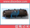 Fiber Optic Splice Closure TDCE-C02, Horizontal (In-Line) Style A, max 96 cores