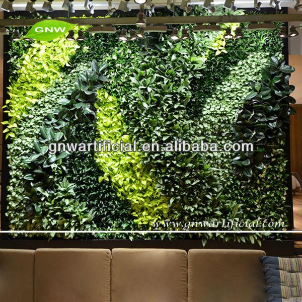 Gnw glw053 interna verticale giardino paesaggistico erba - Giardino verticale fai da te ...
