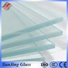 clear color tempered glass with ISO CE & CCC