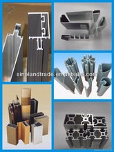 China Manufacturer Anodized Aluminium Profiles for Shower Enclosures