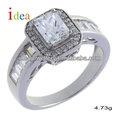 de estilo occidental de plata joyería de piedras preciosas del anillo