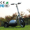 light weight zappy three wheels electric scooter 350w