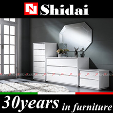 Antique mirrored nightstand / antique reproduction nightstands / venetian mirrored nightstand M-18 N-49 T-49 D-49