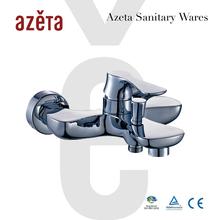 Azeta Sanitary Ware Bathroom Two Hole Shower Bath tub Copper Faucet