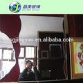 Adhesivo decorativo espejo de la pared, espejo de lujo/molido borde